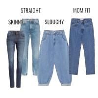 Виды и фасоны женских джинсов