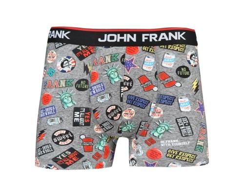 Набор мужских боксеров JohnFrank с принтом JF3B08